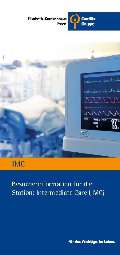 Besucherinformation für die Station: Intermediate Care (IMC)